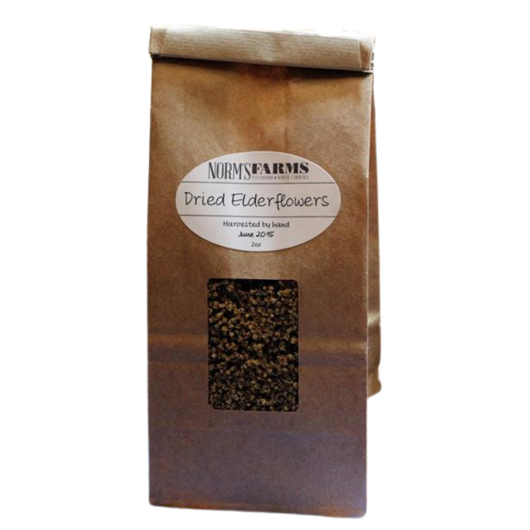 Norm's Farms Organic Dried Elderflowers